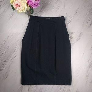 Express Black Stretch Pencil Skirt SZ0